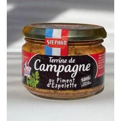 Country style terina s papričkami Espelette
