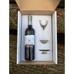 Dárkový box - Cabernet Sauvignon polosladké + dekantér OXIVIN